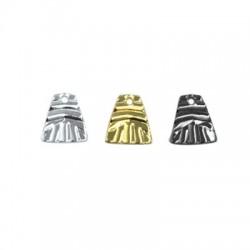 Brass Trapezoid Charm 10x11mm