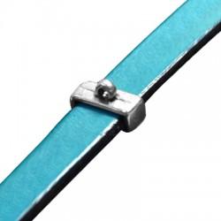 Μεταλλικό Ζάμακ Στοιχείο & Κρίκο Περαστό 13x5mm(Ø10.2x2.2mm)