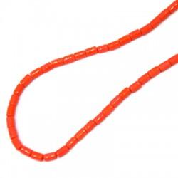 Perlina in Vetro Tubetto 3x5mm (~100pcs/50cm/filo)