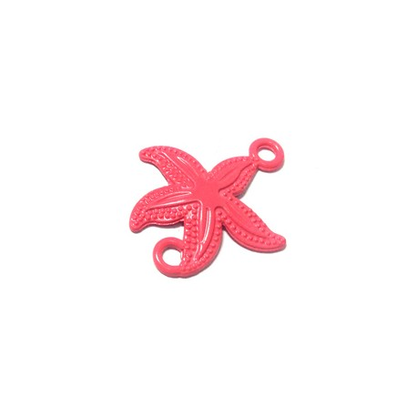 Zamak Painted Casting Connector Starfish 26x26mm