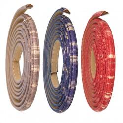 Κορδόνι Συνθετικό Στρογγυλό 6x3.5mm (~1.2μέτρα/κορδόνι)
