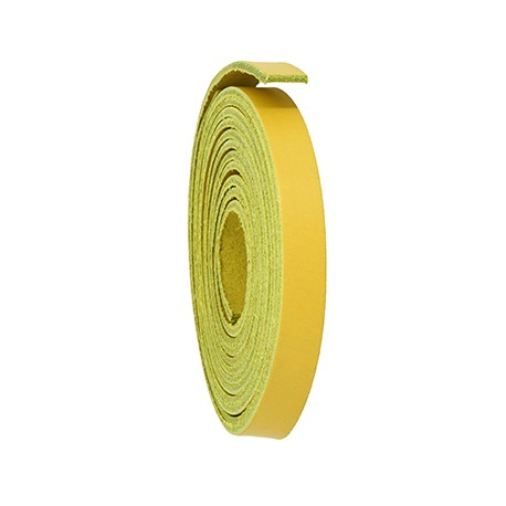 Leather Flat Cord 10mm  (1mtr/pack)