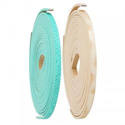 Κορδόνι Συνθετικό Επίπεδο 5mm (~1.2μέτρα/κορδόνι)