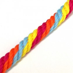 Polyester Twisted Cord 6mm (10mtrs/ Spool)