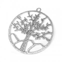 Μεταλλικό Ζάμακ Χυτό Μοτίφ Δέντρο Ζωής 57mm