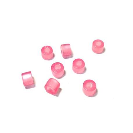 Πολυεστερική Χάντρα Σωληνάκι 7x5mm (Ø3mm)