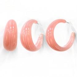 Acrylic Earring Hoop w/ Pin 33mm