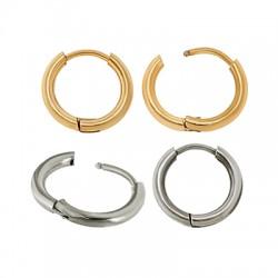 Stainless Steel 304 Earrings Hoop 14mm/2mm