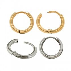 Stainless Steel 304 Earrings Hoop 16mm/2mm