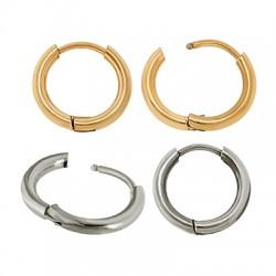 Stainless Steel 304 Earrings Hoop 18mm/2mm