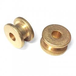 Brass Reel 15x9.2mm (Ø 5.2mm)