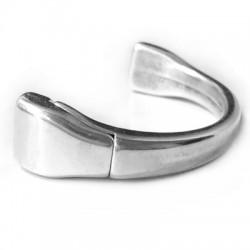 Zamak Magnetic Clasp Half Bracelet (Ø 10x2mm)