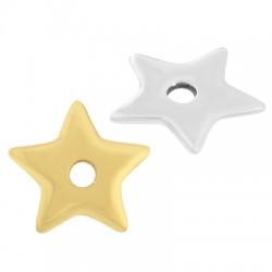 Zamak Charm Star 18mm