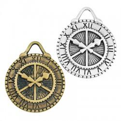 Zamak Pendant Clock Time Watch 32mm