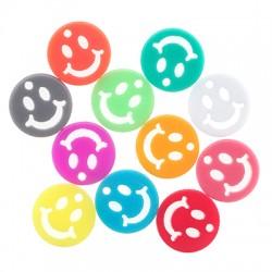 Πλέξι Ακρυλικό Μοτίφ Στρογγυλό Χαμογελαστό Πρόσωπο 12mm