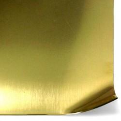 Foglio Metallico di Ottone 20x30cm (spessore 0.5mm)