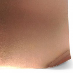 Copper Sheet 200x300mm (thickness 0.3mm)