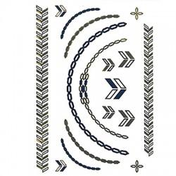 Καρτέλα Με Αυτοκόλλητα Τατουάζ 15x19cm
