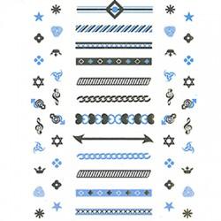 Tattoos Stick Card 15x19cm