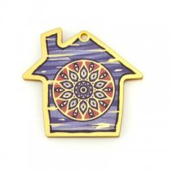Πλέξι Ακρυλικό Μοτίφ Σπίτι 43x37mm