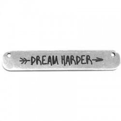 """Μεταλλική Μπρούτζινη Χυτή Ταυτότητα """"Dream"""" 35x6mm (Ø1.2mm)"""