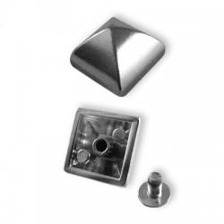 Μεταλλικό Τρουκ Τετράγωνο Σετ 15mm