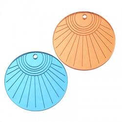 Πλέξι Ακρυλικό Μοτίφ Στρογγυλό Ήλιος 40mm