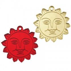 Plexi Acrylic Pendant Sun 30mm