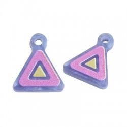Plexi Acrylic Charm Triangle 12mm