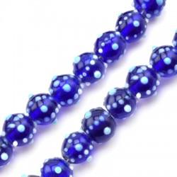 Murano Glass Bead Round 13mm (Ø2mm)