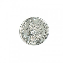 Steel Coin 15mm