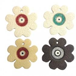 Ceramic Lucky Pendant Rose 61mm (Ø 4.5mm)