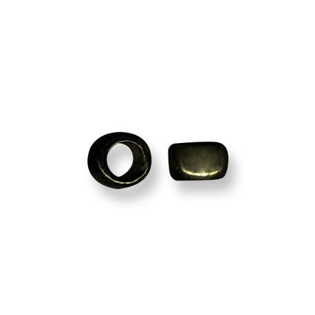 Κεραμική Χάντρα Ροδέλα με Σμάλτο 9mm (Ø8mm)