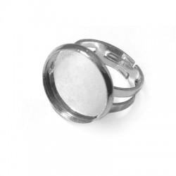 Brass Ring Round 16mm