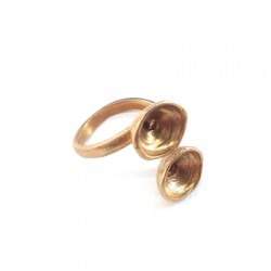Brass Cast Ring 23mm with SS39 Settings