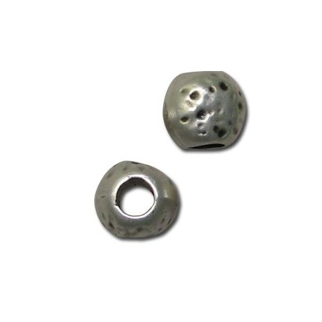 Perlina in Zama Disegnata 11mm (Ø 4.8mm)