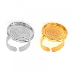 Ζ/Α Round Setting Ring 22,5mm (Internal Diameter 21mm)