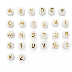 Acrylic Slider Round Letters 10mm (Ø2.2mm)