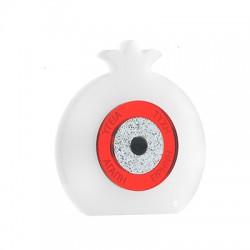 Plexi Acrylic Lucky Deco Pomegranate w/ Eye & Wishes 77x82mm