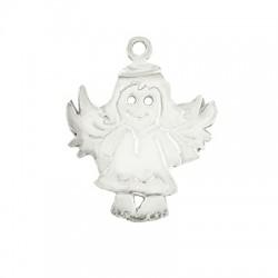 Silver 925 Pendant Angel 20mm