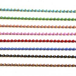 Brass Ball Chain Diamond 3.2 mm