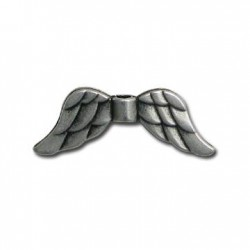 Zamak Slider Angel Wings 31x11mm