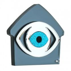 Πλέξι Ακρυλικό Επιτραπέζιο Σπίτι Μάτι 100x93mm
