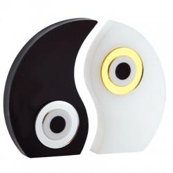 Πλέξι Ακρυλικό Επιτραπέζιο Yin Yang Μάτι 99x84mm (2τμχ/Σετ)