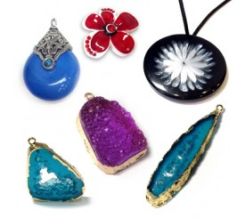 ACRYLIC PENDANTS & RESIN