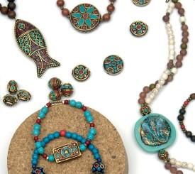 Perles décorées