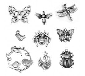 Farfalle,Insetti ed Uccelli
