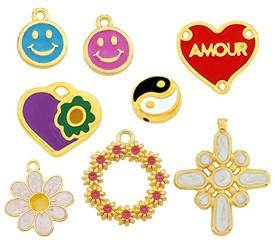 Various Enamelled