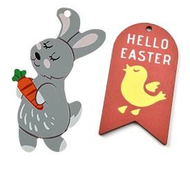 Wooden Easter Crafts