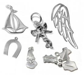 Silver 925 Lucky Christmas Charms